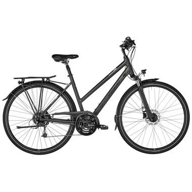 Vélo de Voyage DIAMANT UBARI DELUXE TRAPEZ Femme Noir 2020